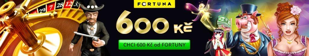 Fortuna Casino Bonus 600 Kč