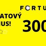 fortuna vegas obratový bonus