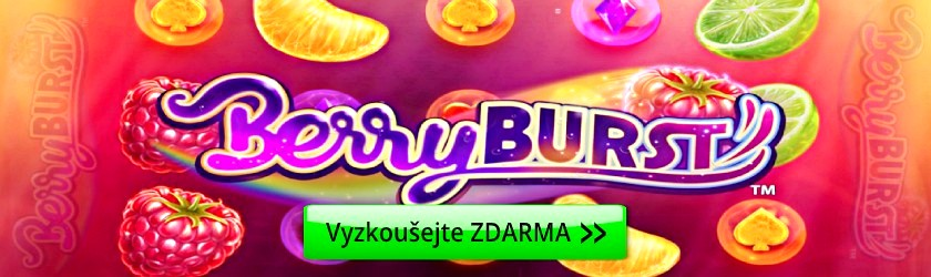 Berry Burst hrací automaty zdarma ovoce