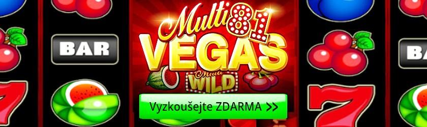 Multi Vegas 81 online automat Kajot