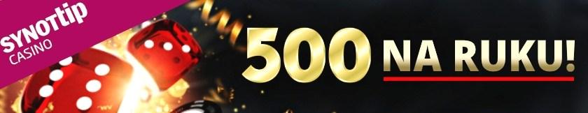 Synottip casino nejlepší bonus v česku