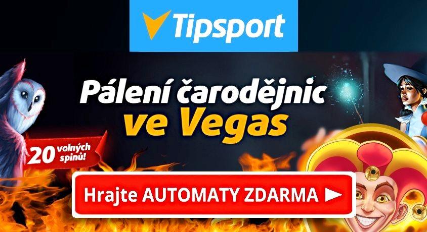Čarodějnice Tipsport Casino pálení
