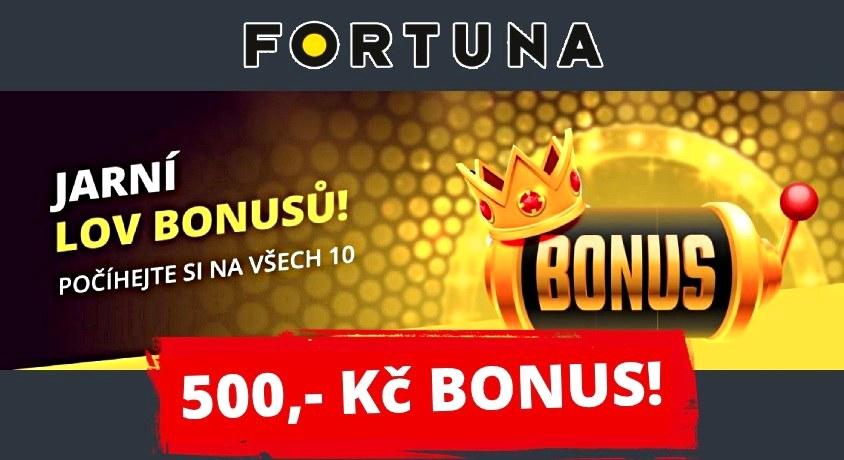 Fortuna bonus bez vkladu