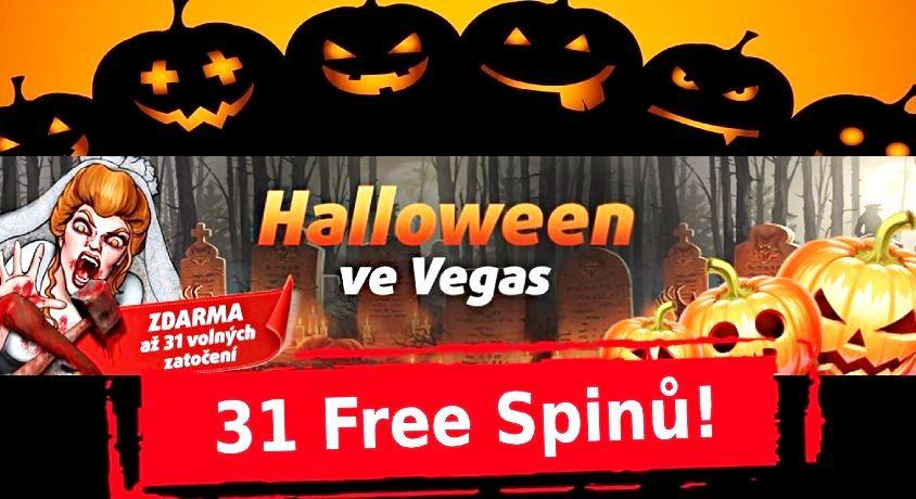halloween casino bonus Tipsport Vegas