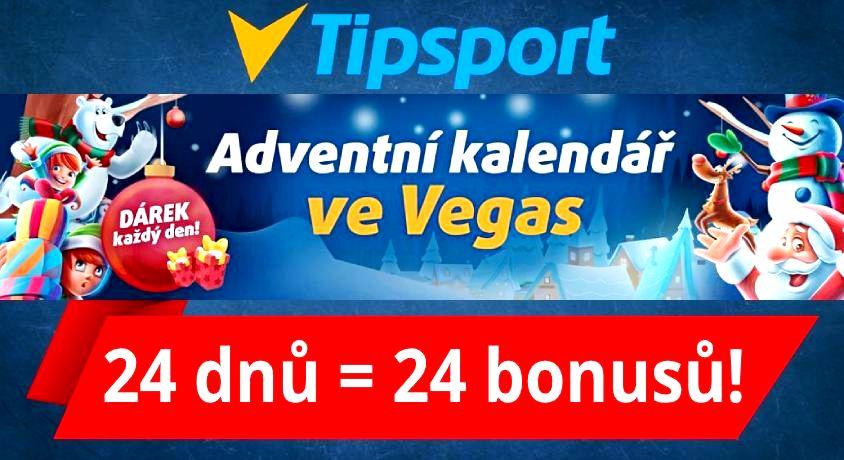 Adventní kalendář Tipsport Casino Bonus