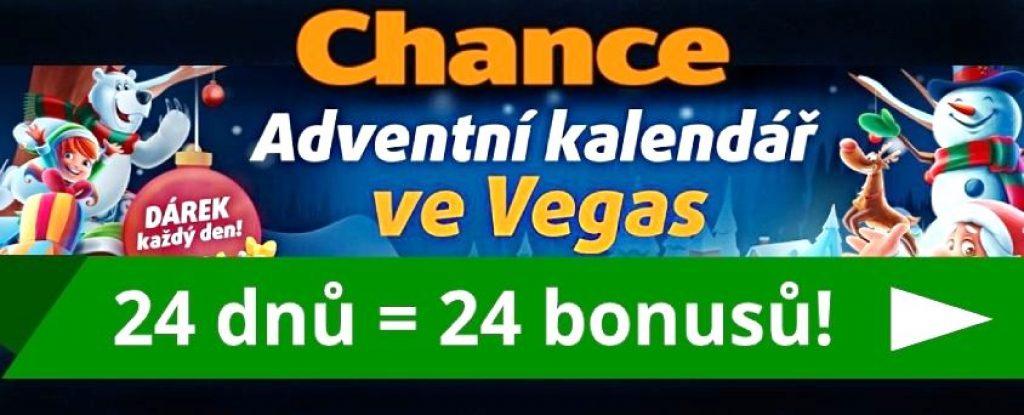 Chance casino Adventní kalendář