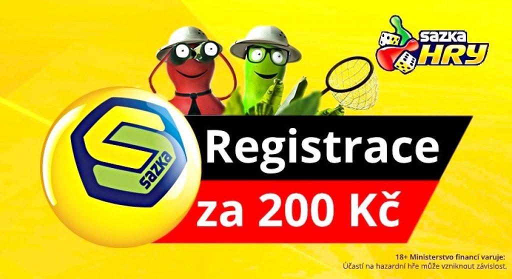 Sazka registrace