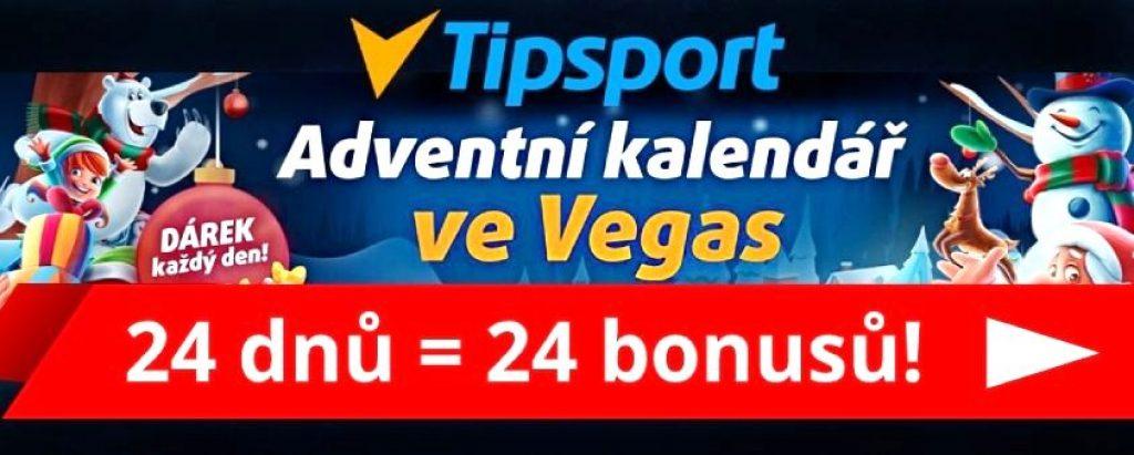 Tipsport Adventní kalendář casino