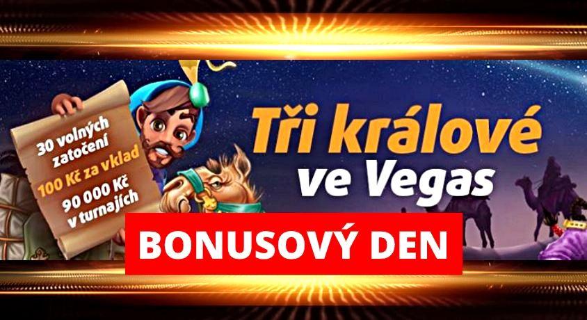 tři králové bonus online casino