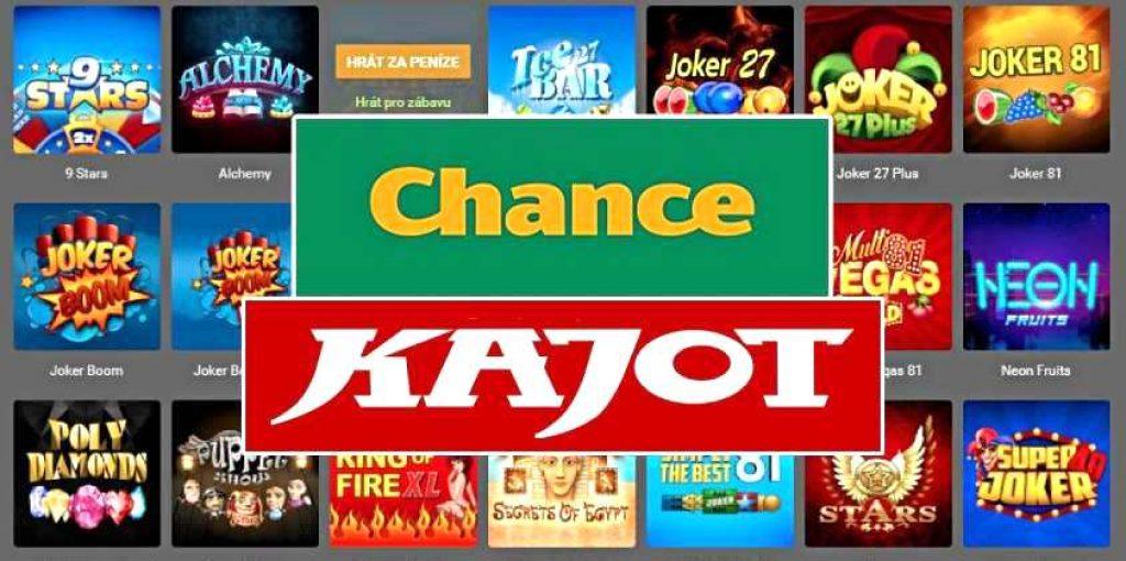 Chance Kajot automaty