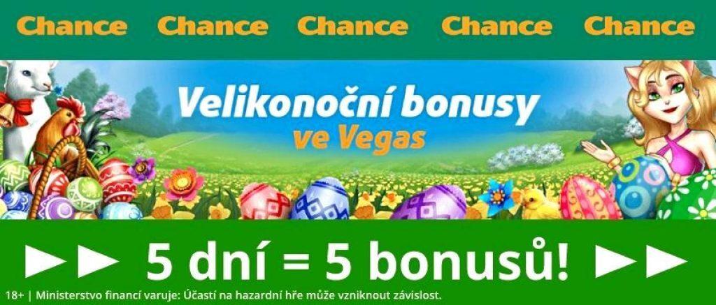 velikonoční casino bonus Chance free spiny