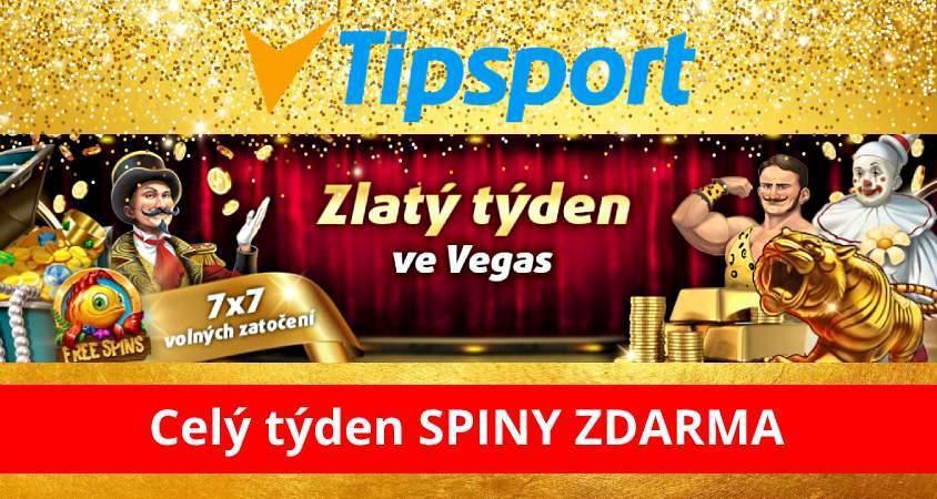 Tipsport casino dárek zdarma