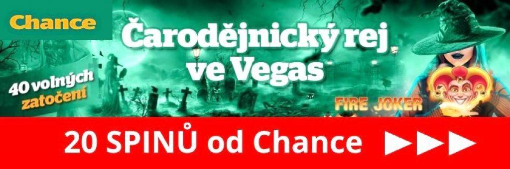 chance casino čarodějnice bonus