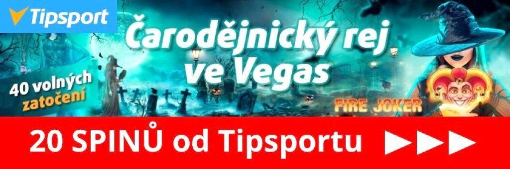 tipsport casino čarodějnice bonus free spiny