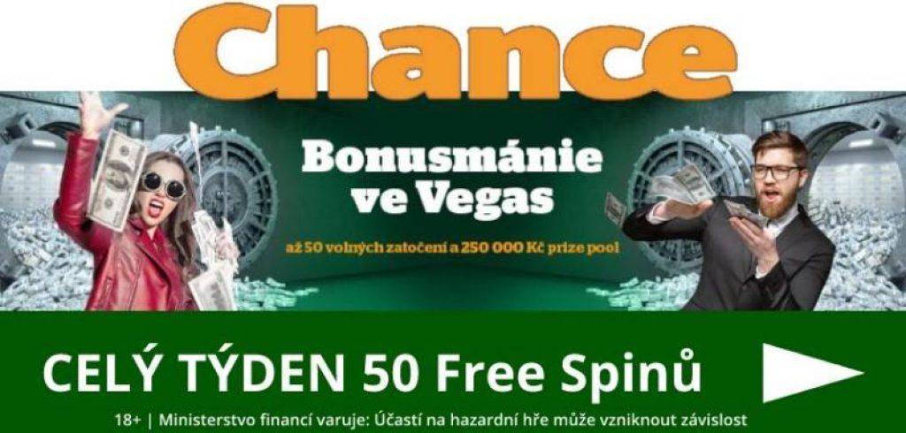Chance casino bonusmánie