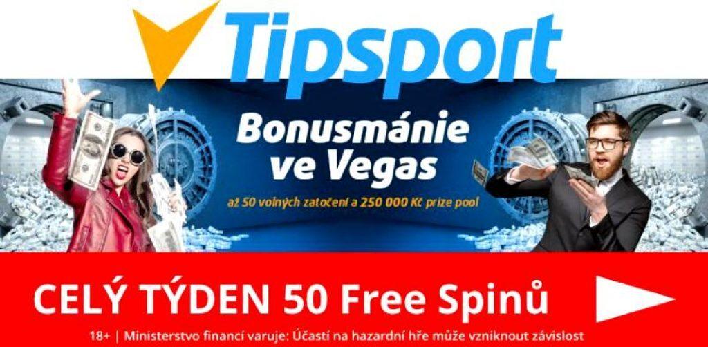 Tipsport casino bonusmánie