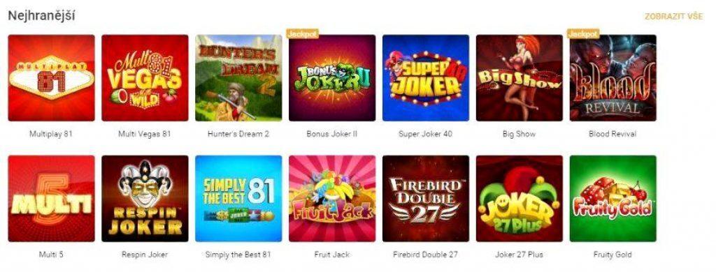 Tipsport casino online automaty