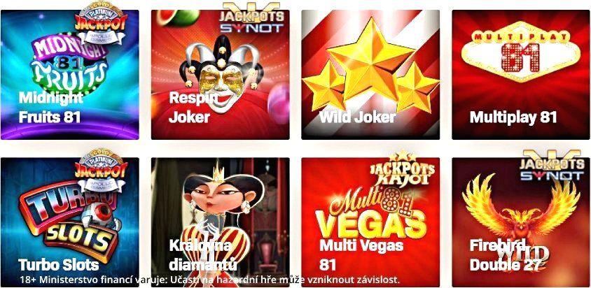 Casino online cz automaty zdarma