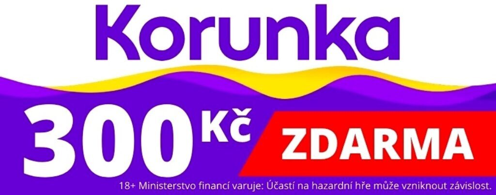 Korunka.eu 300 Kč zdarma bonus káčka