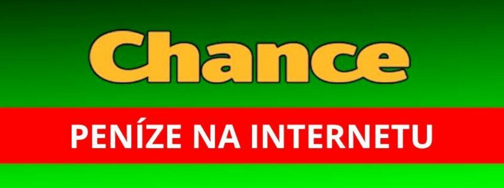 Chance peníze na internetu