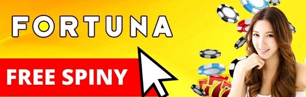 free spiny za registraci Fortuna casino