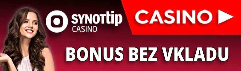 Synottip casino bonus bez vkladu